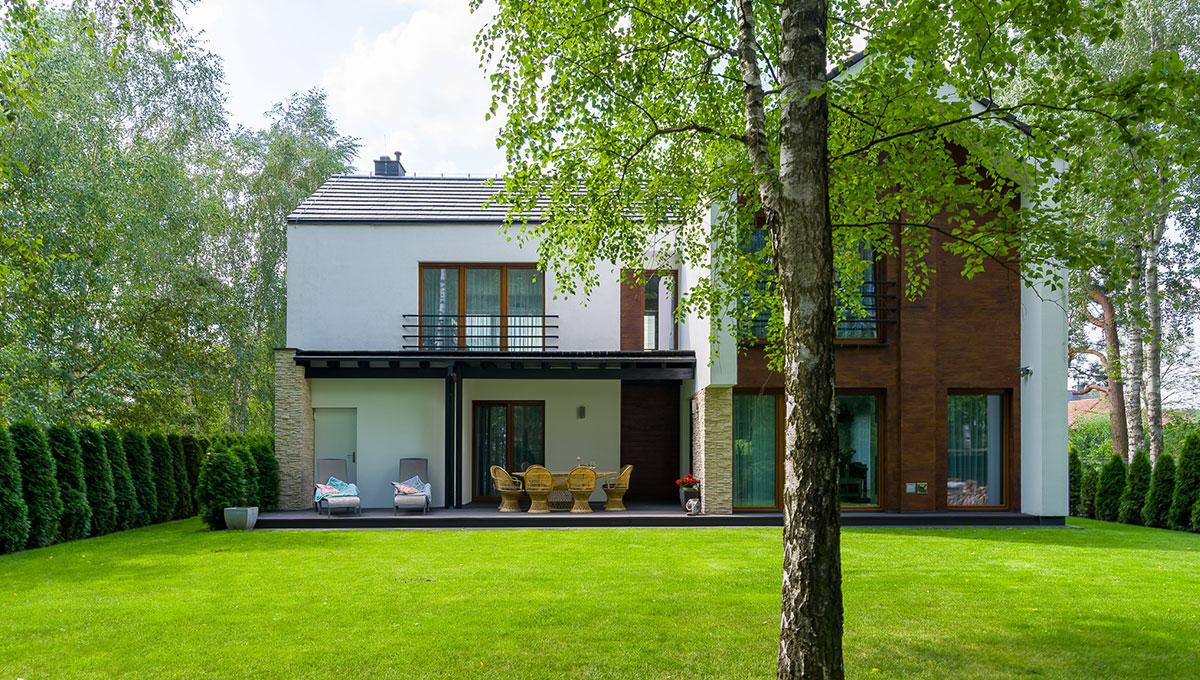 Dom w harmonii z ogrodem w Borówcu
