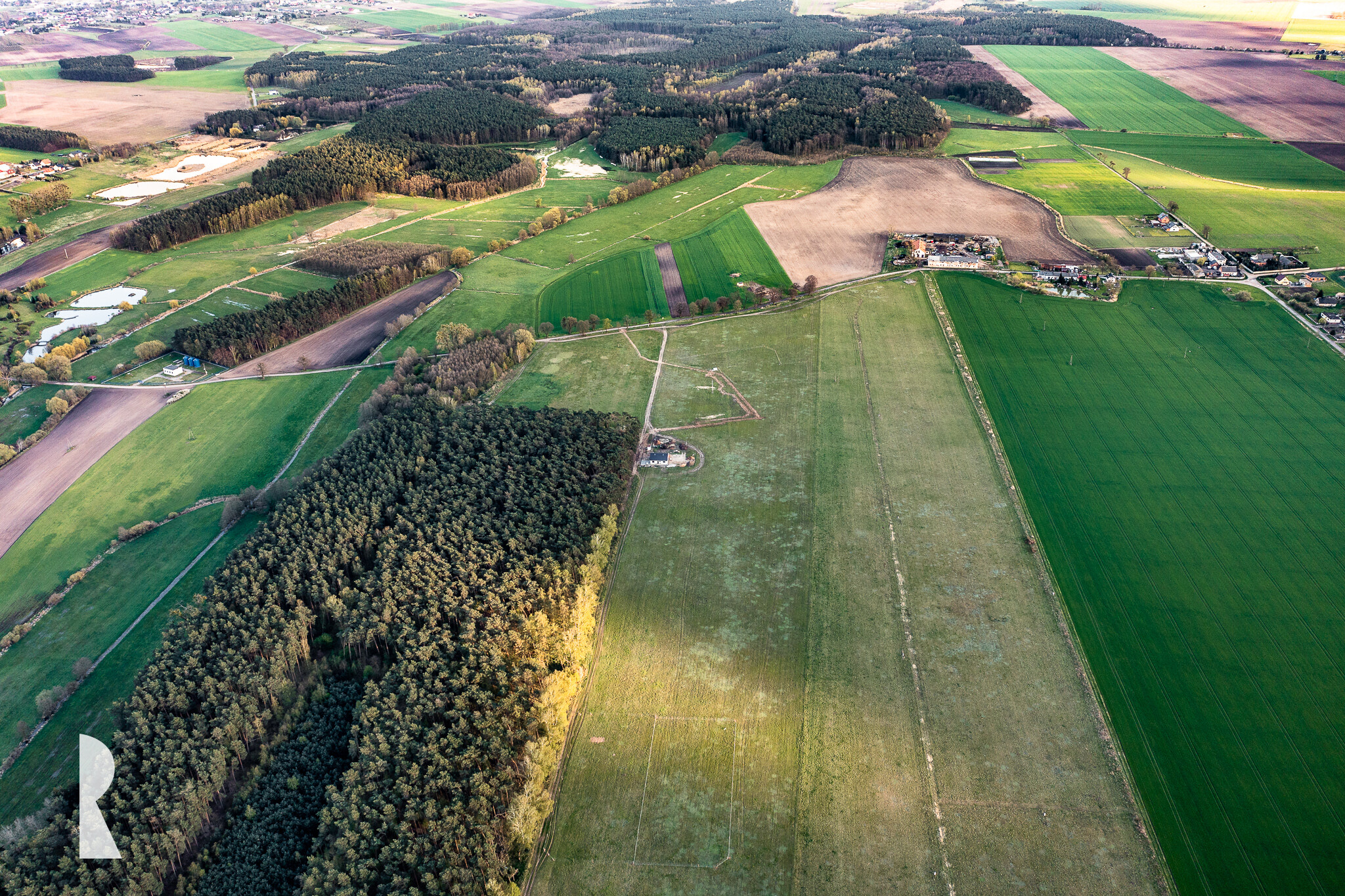 Malownicza działka przy lesie – Speno k. Zielątkowa